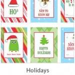 Free holiday printables for the home